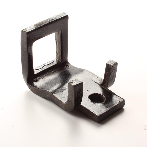 Bride 50x12mm de vibroculteur, pour dent de 32x12 avec renfort 32x10, pièce interchangeable