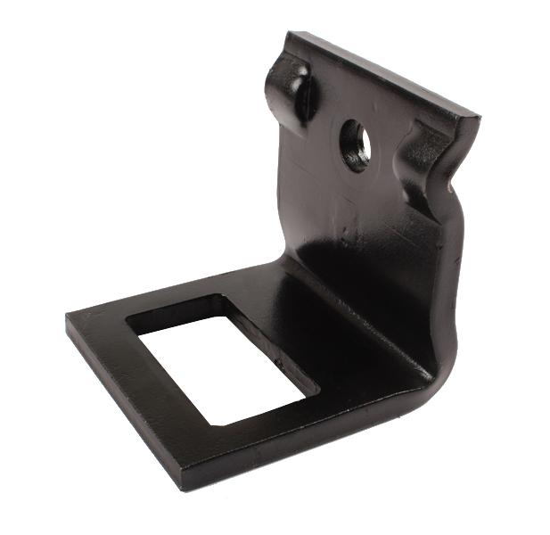Bride 60x60mm de vibroculteur, pour dent de 70x12, épaisseur 12 mm, pièce interchangeable