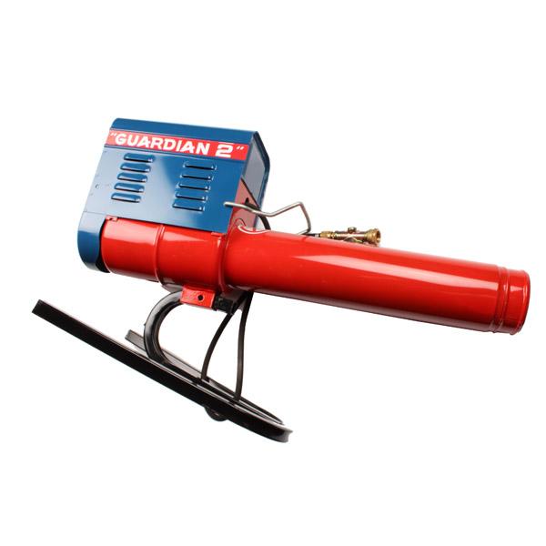 Canon à gaz effaroucheur, canon réglable de 80 à 120 décibels, protection de 3 à 4 hectares