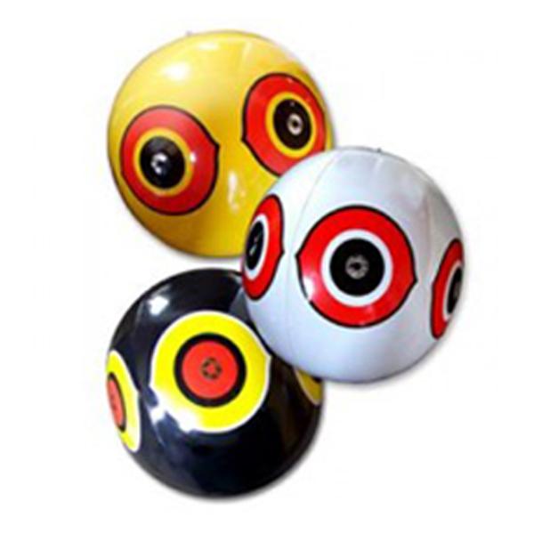 """Kit """"prédator"""" de 3 ballons effaroucheurs pour protection des cultures et jardin"""