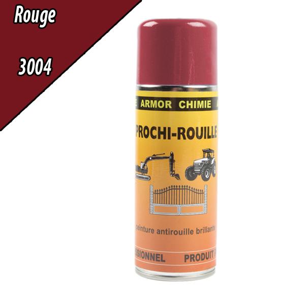 Peinture agricole PROCHI- ROUILLE brillante, rouge, 3004, UNIVERSEL, Aérosol 400ml