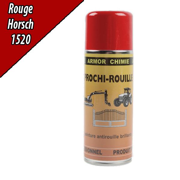 Peinture agricole PROCHI- ROUILLE brillante, rouge, 1520, HORSCH, Aérosol 400ml