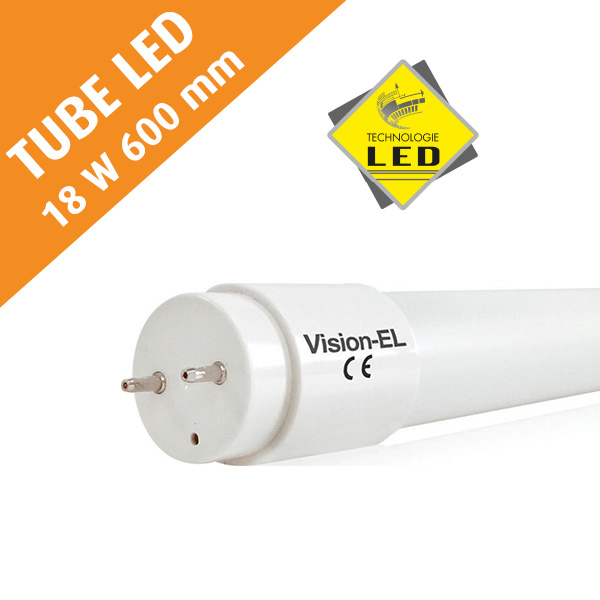 Tube LED T8, 18 W, 600 mm