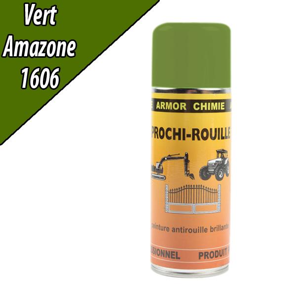 Peinture agricole PROCHI- ROUILLE brillante, vert, 1606, AMAZONE, Aérosol 400ml