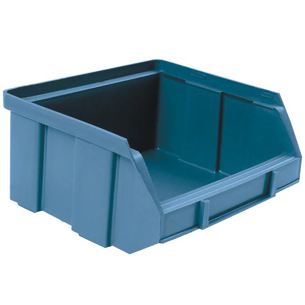 Boite à bec, 100x95x50mm, bleue, pour étagère
