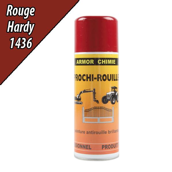 Peinture agricole PROCHI- ROUILLE brillante, rouge, 436, HARDI, Aérosol 400ml