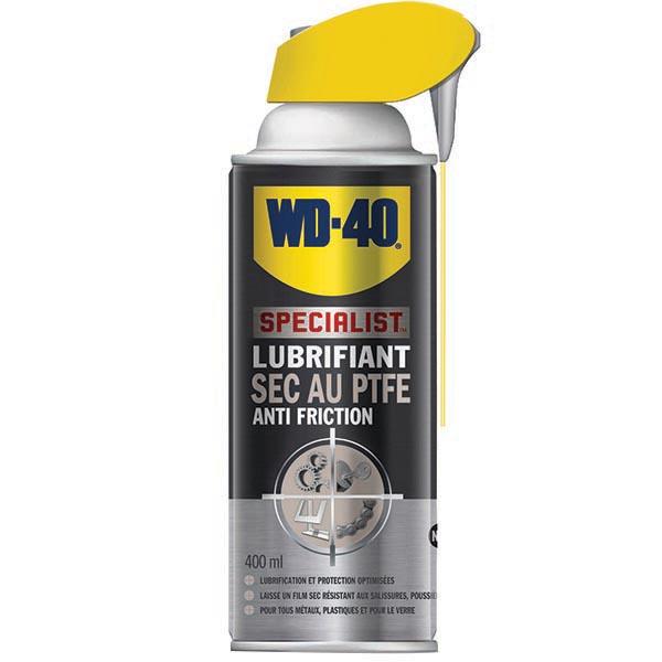 WD-40, Lubrifiant sec au PTFE, aérosol de 400ML