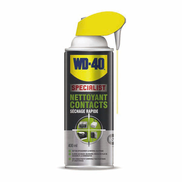 Huile nettoyant contact WD-40, 400ml