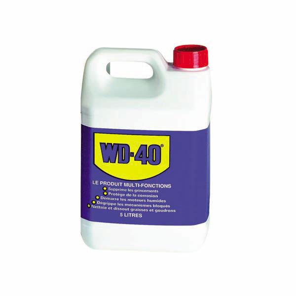 WD-40 Bidon de 5L, aérosol professionnel avec canule - l'indispensable