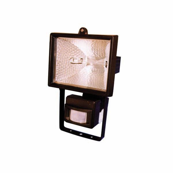 Projecteur halogène 500W avec détecteur radar 180°