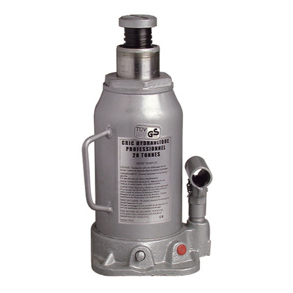 Cric hydraulique corps en fonte 20 T