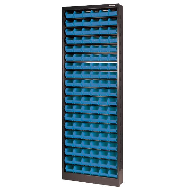 Armoire métallique pour 114 boites à bec