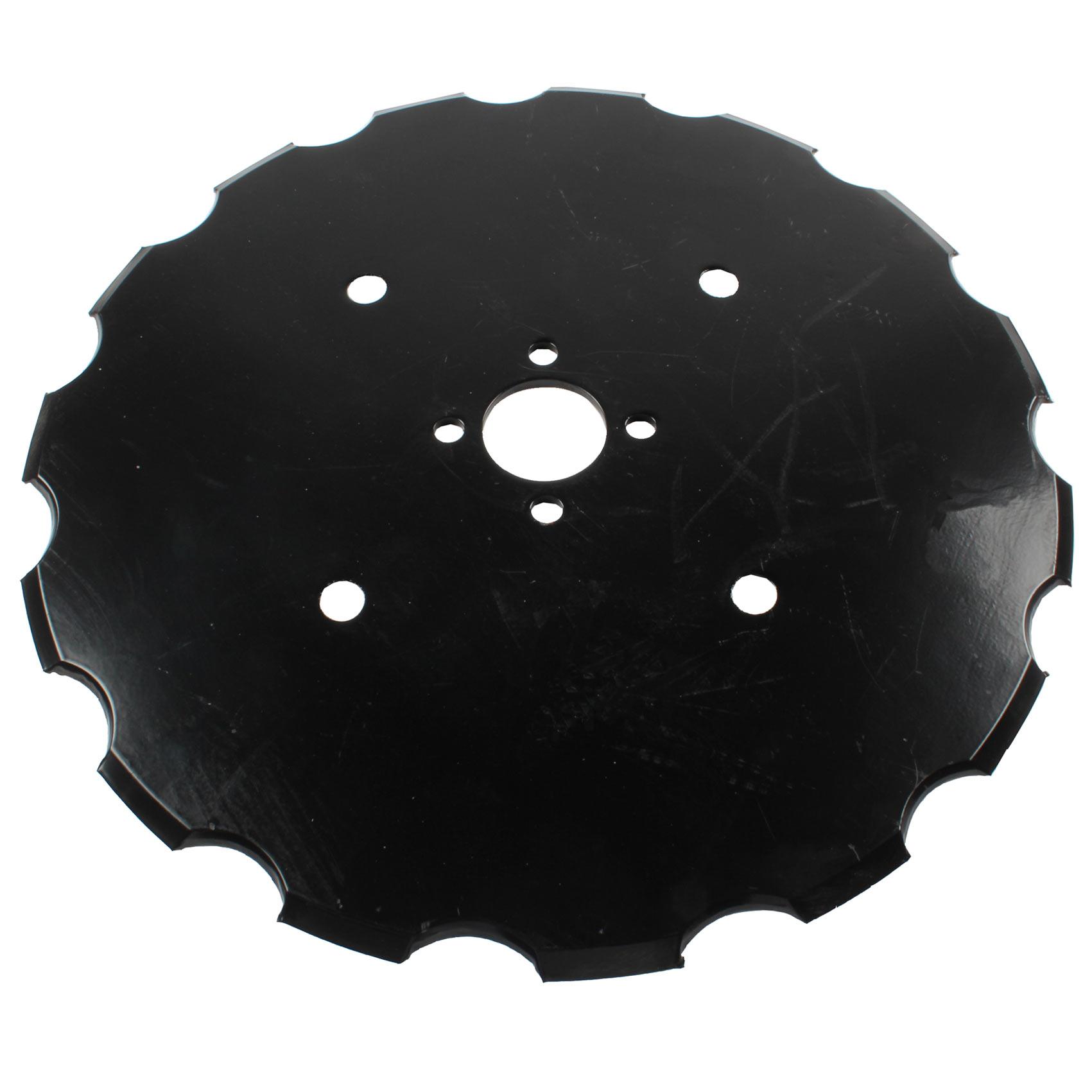 Disque semeur crénelé 475x6mm, G15320012, pour semoir Gaspardo Diretta