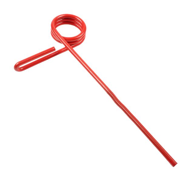 Peigne simple griffe angle 95°,  8mm, pour semoir Sulky, 909185, pièce interchangeable