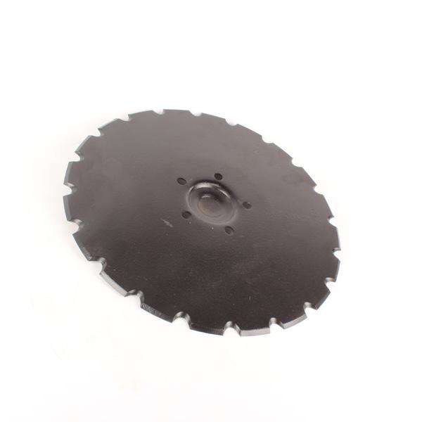 Disque semeur crenelé, 410X4,5, marque VADERSTAD, 451371, pièce Interchangeable